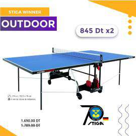 TABLE PING PONG STIGA WINNER OUTDOOR